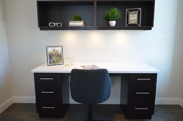 store and secure home office storage