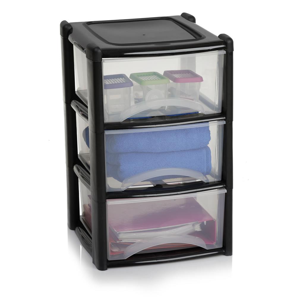 plastic storage unit